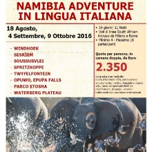 NAMIBIA ADVENTURE