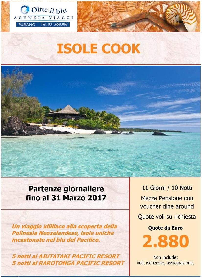isole Cook – paesi esotici